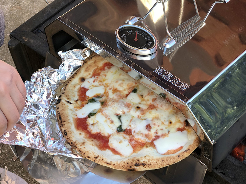 メイン写真:ピザ作り体験