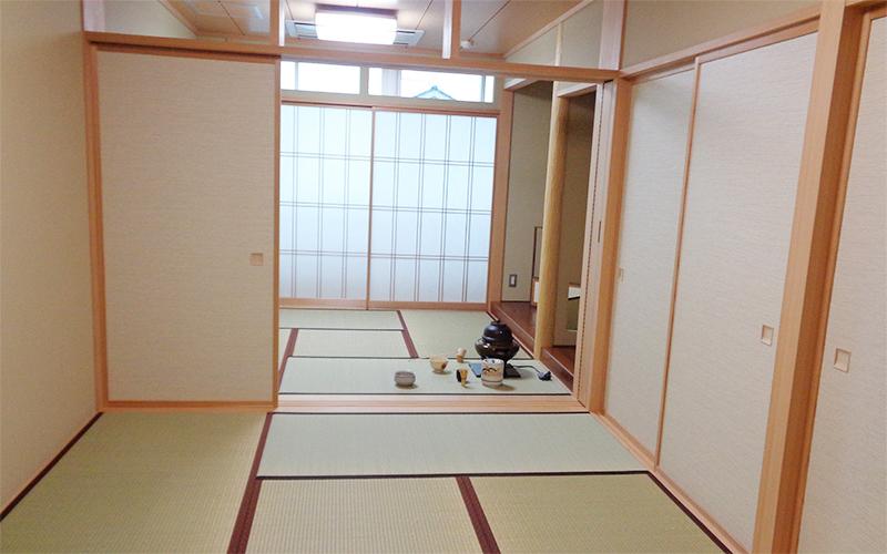 館内マップ 2F 和室・茶室
