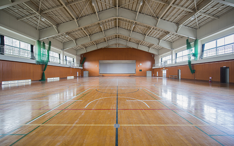 Floor map Gymnasium