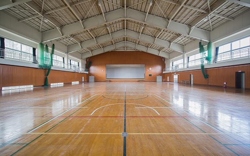 館内マップ 体育館棟 体育館
