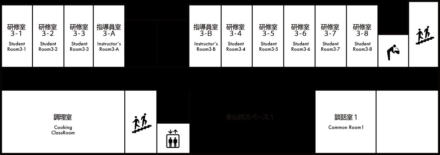 館内マップ 3F 画像
