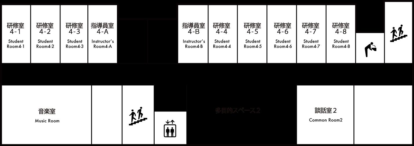 館内マップ 4F 画像