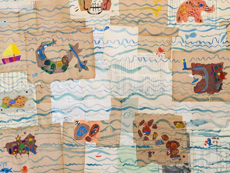 メイン写真:航海図を描こう!