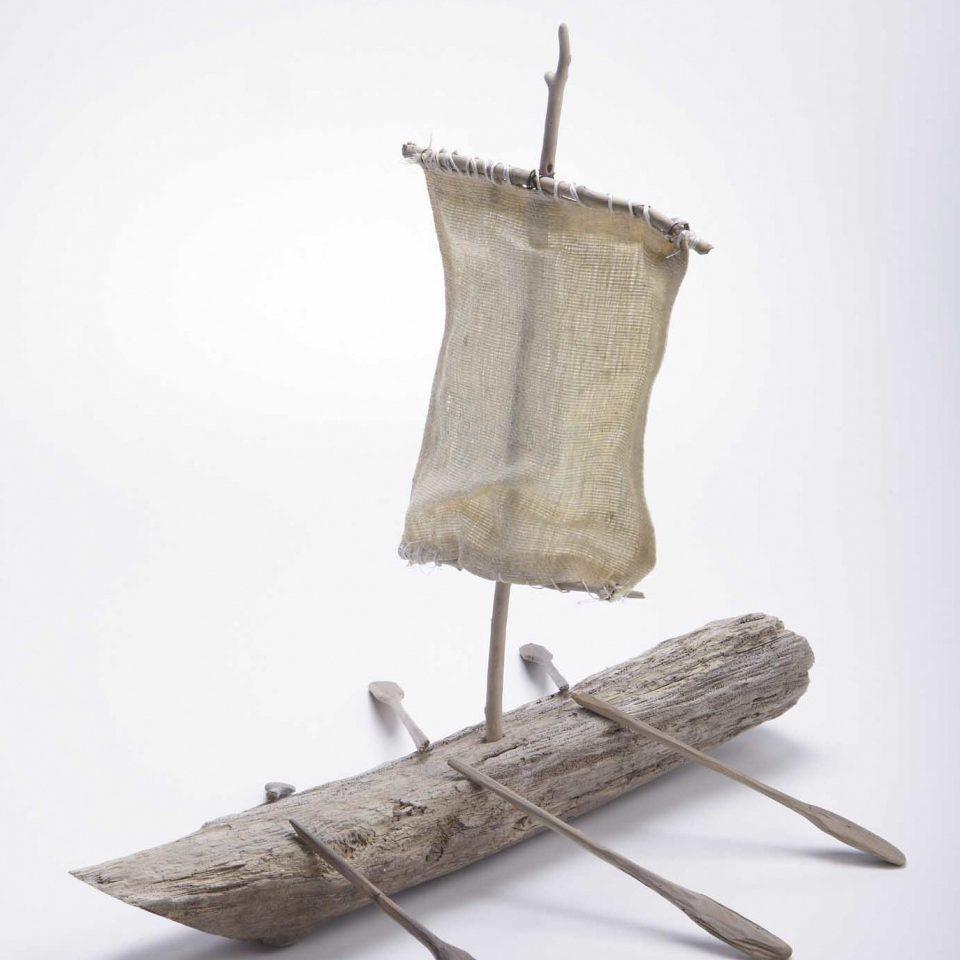 メイン写真:古代の舟をつくろう!