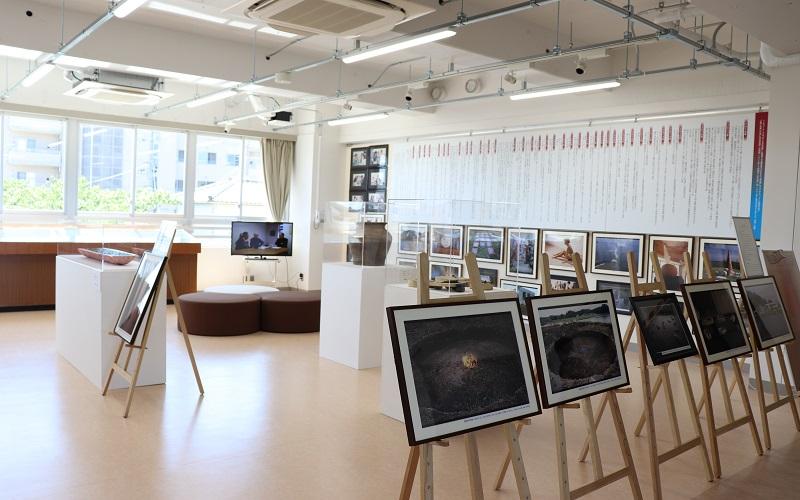 館内マップ 2F 水と土の文化ギャラリー