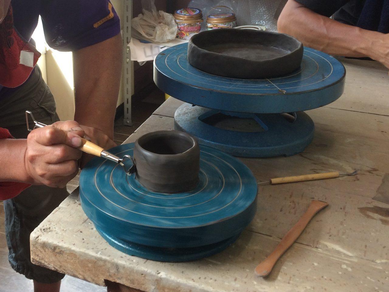 2018-08-07 - <ワークショップ>【礎窯】ゆいぽーと出張作陶体験 申込を開始致しました!