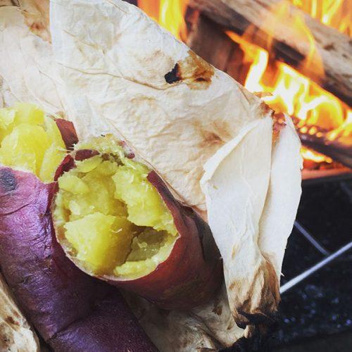2018-11-04 - たき火でやきいもを焼こう