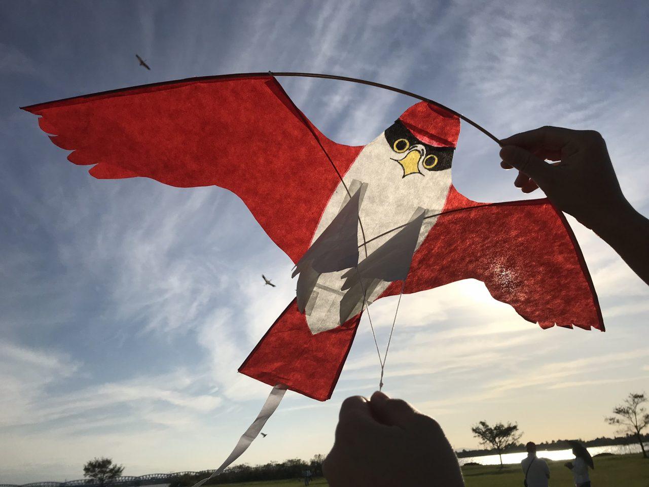 メイン写真:こども凧づくり教室
