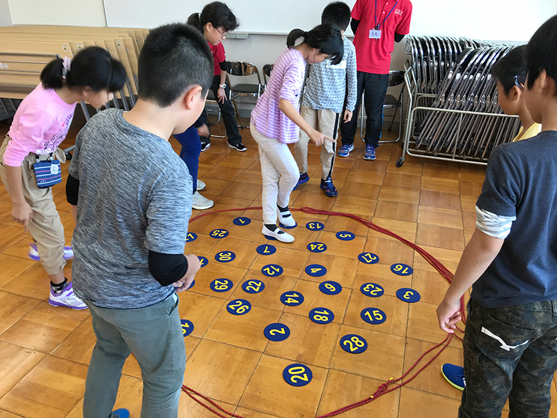 メイン写真:アドベンチャーゲームで仲間づくり
