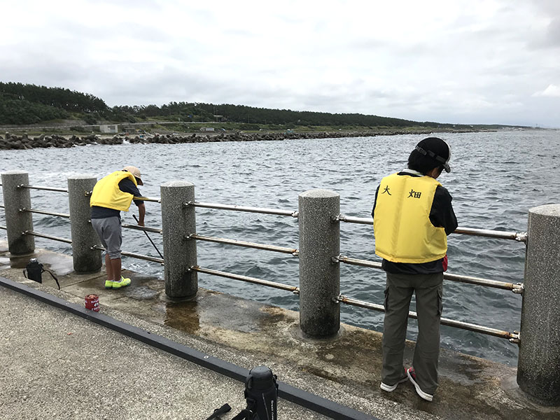 メイン写真:魚釣り体験