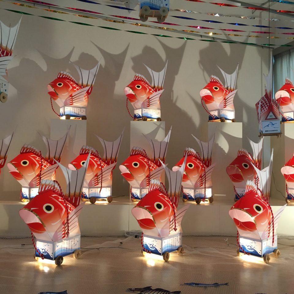 メイン写真:鯛車パレード