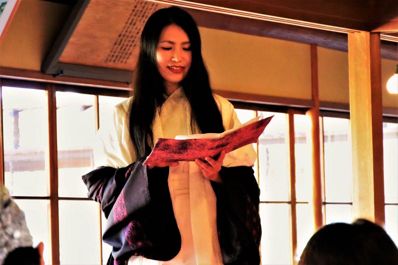 メイン写真:【学校で妖怪】妖怪朗読家ゆうか「語りで感じる新潟の妖怪」