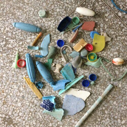 オープンスタジオ「唯ぽーと/海辺の漂着物収集所」