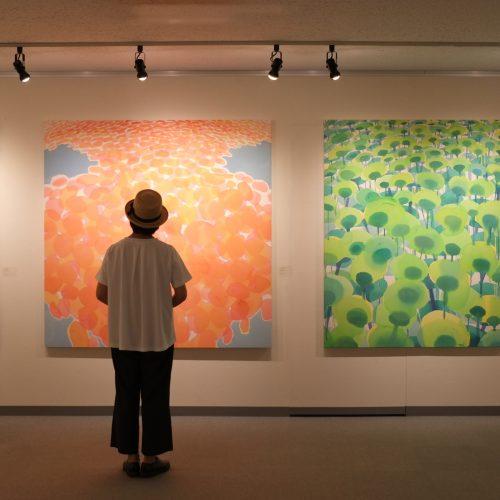 ワークショップ「親子で描こう―滞在アーティストとテーマや画材を共有して―」