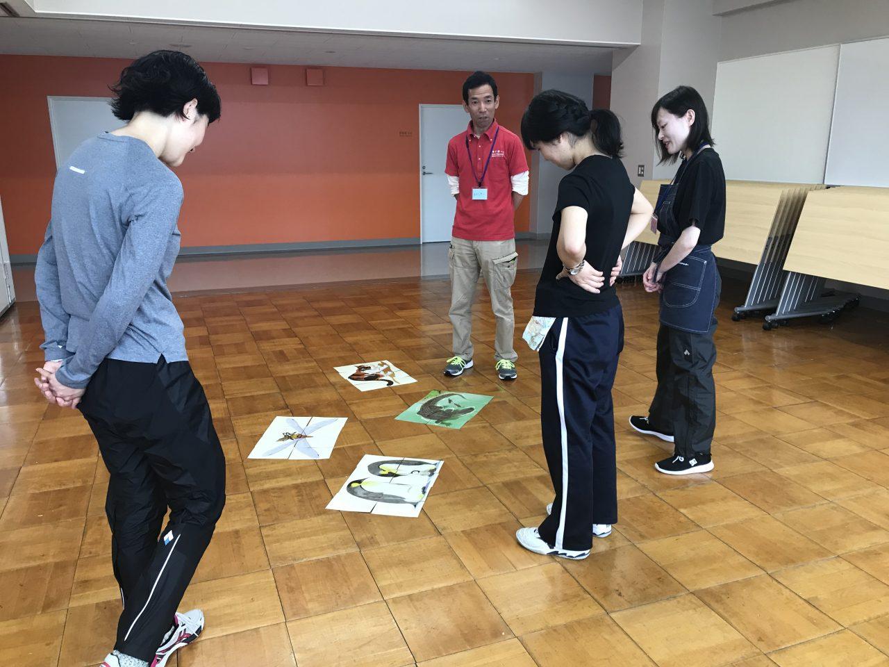 メイン写真:ゆいぽーと体験活動指導者養成講座