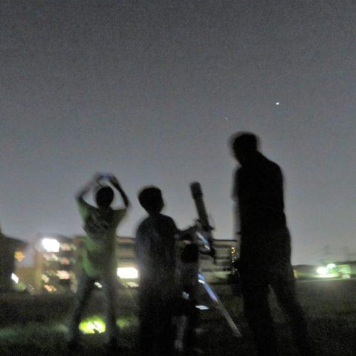 天体望遠鏡を使って星空を観察しよう